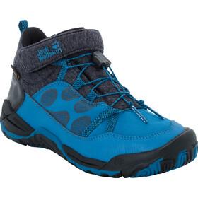 Jack Wolfskin Jungle Gym Texapore Schoenen Kinderen blauw/zwart